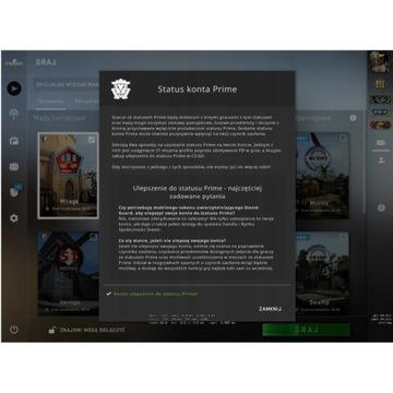 Konto steam CS:GO PRIME Global Elite + faceit/ESEA