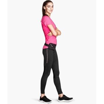 Legginsy spodnie H&M sport XS 34 fitness trening b