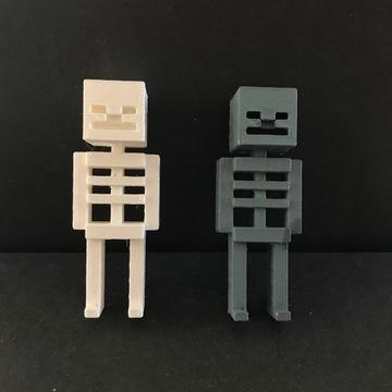 Szkielet z minecrafta - wydruk 3D