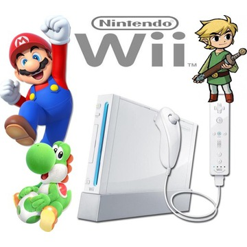Nintendo Wii Softmode + dysk 160GB przerobione CFW