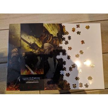 Puzzle wiedźmin 2 draug nowe 1500 elementów Folia