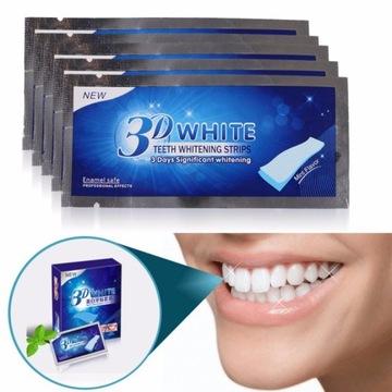 Paski wybielające zęby - 14 dni