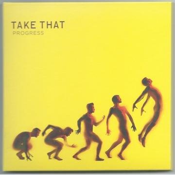 TAKE THAT - Progress - CD Digipack Deluxe UNIKAT