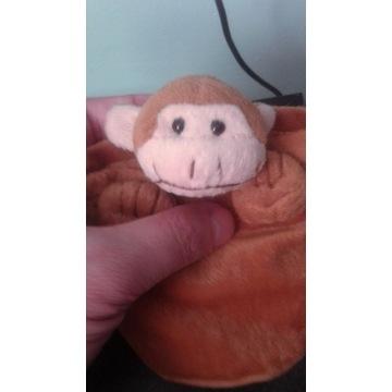 Zabawka małpka sakiewka maskotka