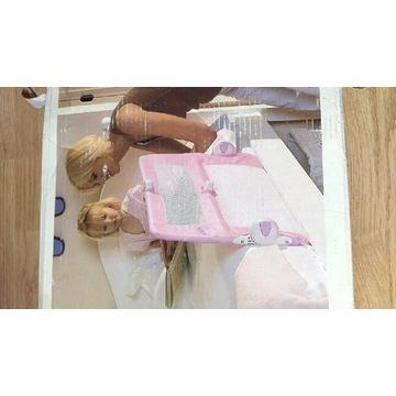 Barierka dziecięca Lindam różowa