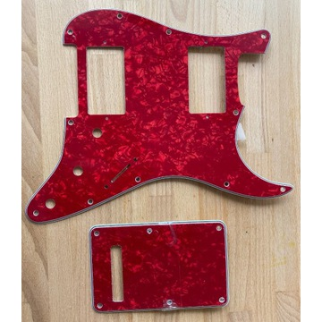 Pickguard płytka strat stratocaster red pearl