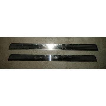 Oryginalne listwy progowe aluminiowe ford modneo 2