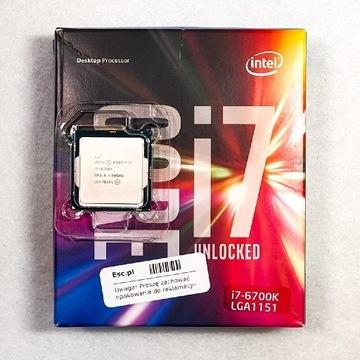 Procesor Intel i7-6700K   unlocked   LGA1151   OEM