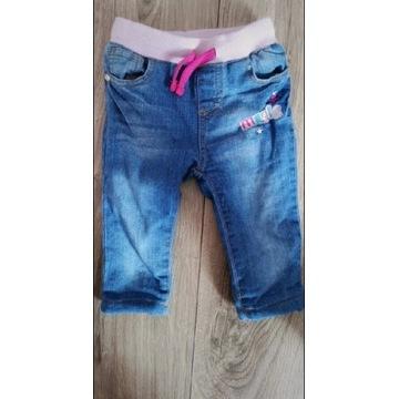 Ocieplane spodnie 74