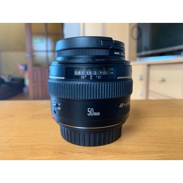 Canon 50mm 1.4 EF UV Ideał Osłona