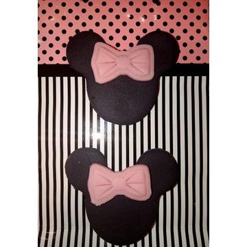 Dekoracja Myszka Minnie-na tort/muffinki/babeczki