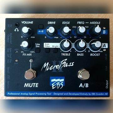 EBS Micro Bass II preamp do gitary basowej
