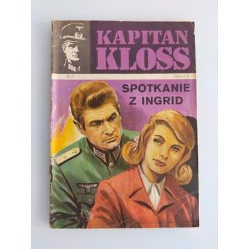 Kapitan Kloss Spotkanie z Ingrid wydanie pierwsze