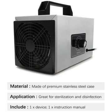 Generator ozonu, ozonator powietrza 20g/h + timer
