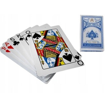Karty do pokera talia 54 powlekane