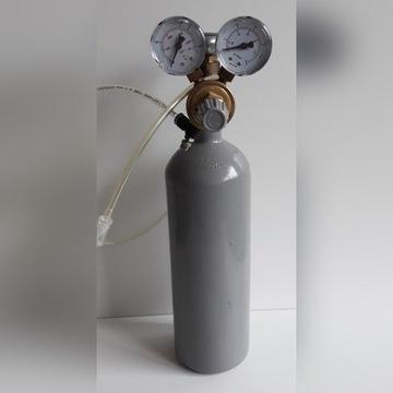 Butla CO2 z reduktorem
