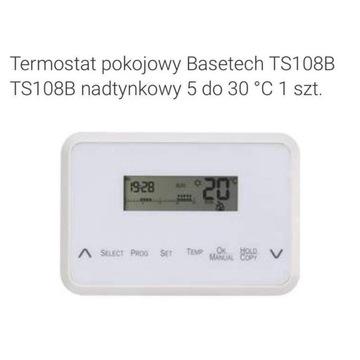 Termostat pokojowy Basetech TS108B
