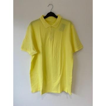 PRIMARK koszulka bluzka polo żółta XL NOWA*194