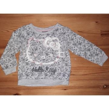 Bluza cekiny cekinowa Hello Kitty 18 - 24m George