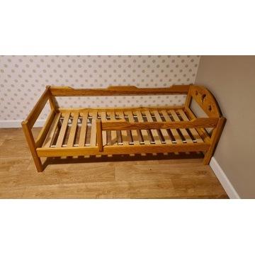 Łóżko drewniane dla dzieci Oliwka 160x70 sosna