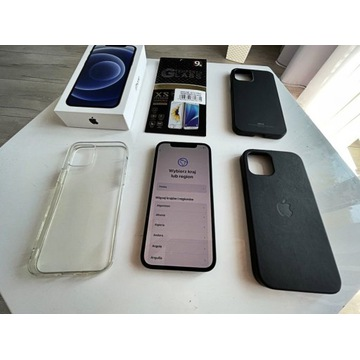 IPhone 12 128GB czarny. Gwarancja