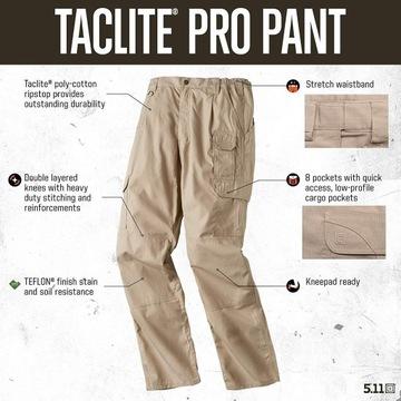 Spodnie Taktyczne 5.11 Taclite Pro Pants roz 40/32