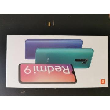Smartfon Xiaomi Redmi 9 3/32gb nowy prezent folia