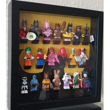 LEGO MINIFIGURES seria Batman 71017 KOMPLET+ramka