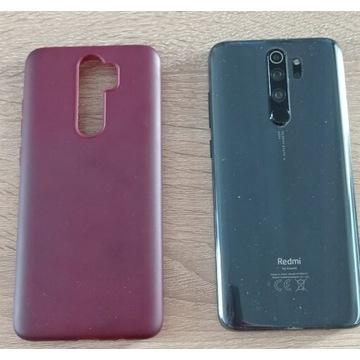 Xiaomi Redmi Note 8 Pro + case bordowy