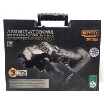 Szlifierka Akumulatorowa 20v Max Akumulator Zestaw