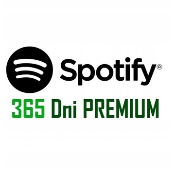 Spotify subskrypcja na 12 MIESIĘCY
