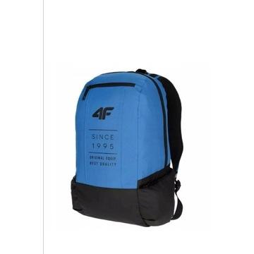 Plecak 4F niebieski kobalt szkolny miejski wyciecz