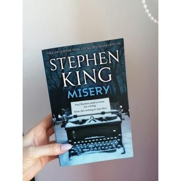 Książka Stephen King Misery wersja angielska ENG
