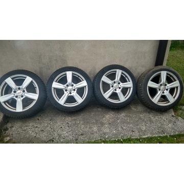 Felgi DBV 17' 8j ET35 + Pirelli Sottozero 3 225/45