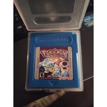 Gra Pokemon Blue gameboy color gbc game boy PL