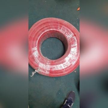 Pex rura 16 w otulinie zbrojonej czerwonej 100mb
