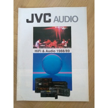 JVC katalog  HiFi&Audio 1988/1989