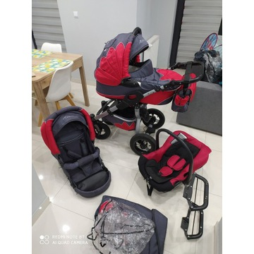 3w1 Wielofunkcyjny wózek Mohican CAPTIVA 3w1