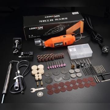 LOMVUM elektryczny młynek Mini wiertarka 350W