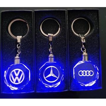 Brelok LED AUDI VW MERCEDES