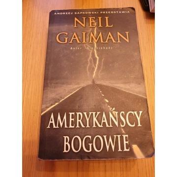 Amerykańscy Bogowie Neil Gaiman