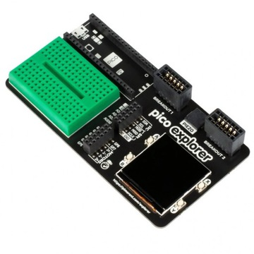 Pico Explorer Base moduł do Raspberry PICO RP2040