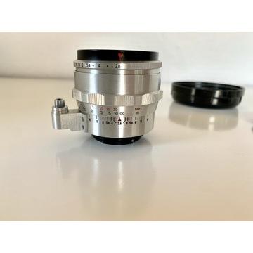 obiektyw analogowy Flektogon 35mm 2,8 Exakta canon