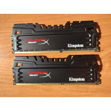 Pamięć RAM DDR3  Hyper X Beast, 16 GB 1600MHz CL9