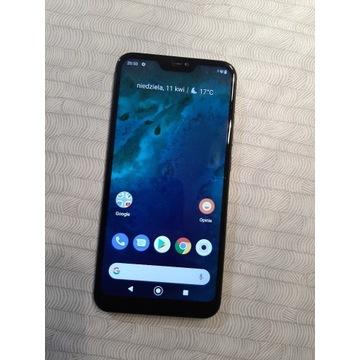 Smartfon Xiaomi Mi A2 Lite 4/64GB czarny USZKODZON