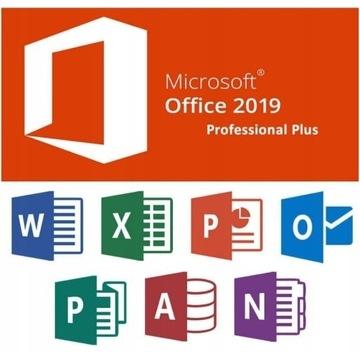 Klucz Microsoft Office 2019 Professional Plus PL