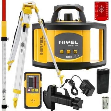 Nivel System Niwelator Laserowy NL500+SJJ1+LS-24