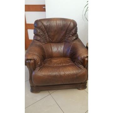 Fotele 2 skórzane