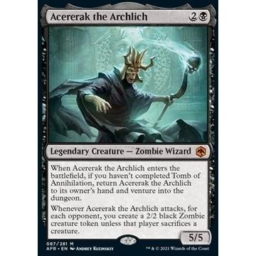 Acererak the Archlich - NM, karta MTG