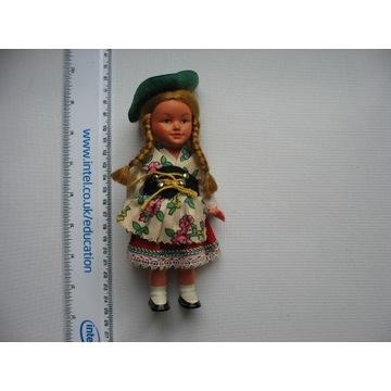 Stara Lalka ludowa na kluczyk dziecko  M.W.Germany